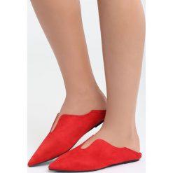 Czerwone Balerinki Have a Dream. Czerwone baleriny damskie lakierowane Born2be, z materiału, na płaskiej podeszwie. Za 34,99 zł.