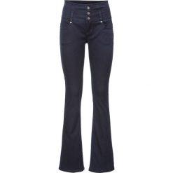 """Dżinsy ze stretchem Bootcut bonprix ciemnoniebieski """"stone"""". Niebieskie jeansy damskie bootcut marki bonprix. Za 119,99 zł."""