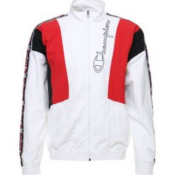 Kurtki sportowe męskie: Champion Reverse Weave FULL ZIP TOP Kurtka sportowa white/red