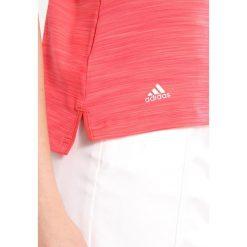 Adidas Golf Koszulka sportowa real coral. Pomarańczowe topy sportowe damskie adidas Golf, l, z elastanu. Za 189,00 zł.