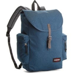 Plecak EASTPAK - Austin EK47B Double Denim 82D. Niebieskie plecaki męskie Eastpak, z denimu, sportowe. W wyprzedaży za 219,00 zł.