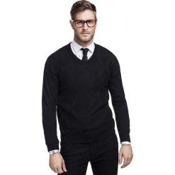 Sweter CARLO A 15-56SR. Brązowe swetry klasyczne męskie Giacomo Conti, na jesień, m, z wełny, z klasycznym kołnierzykiem. Za 229,00 zł.
