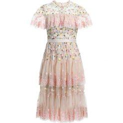 Sukienki hiszpanki: Needle & Thread TIERED ANGLAIS Sukienka koktajlowa petal pink