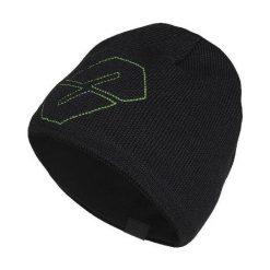 Czapki męskie: NEVERLAND Czapka męska Helix czarno-zielona (P-04-HELIX-376-UNI)