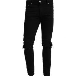 Liquor N Poker RIP KNEE Jeans Skinny Fit black. Niebieskie rurki męskie marki Tiffosi. Za 239,00 zł.