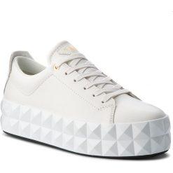 Sneakersy damskie: Sneakersy EMPORIO ARMANI – X3X059 XF258 00001 Off White