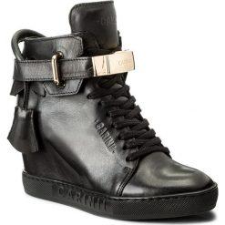 Sneakersy CARINII - B3767/K E50-000-PSK-B88. Czarne sneakersy damskie Carinii, z materiału. W wyprzedaży za 299,00 zł.