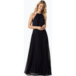 Marie Lund - Damska sukienka wieczorowa, niebieski. Niebieskie sukienki hiszpanki Marie Lund, wizytowe, dopasowane. Za 499,95 zł.