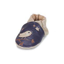 Kapcie niemowlęce Dziecko  Robeez  NIGHT BIRDS. Białe kapcie dziewczęce marki Andre. Za 149,00 zł.