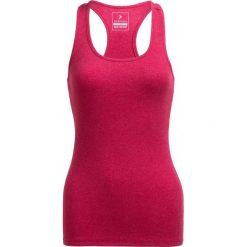 Top damski TSD600B - ciemny róż - Outhorn. Czerwone topy sportowe damskie Outhorn, z bawełny. W wyprzedaży za 19,99 zł.