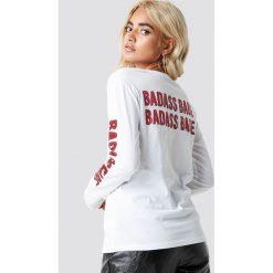 Rut&Circle T-shirt Badass - White. Zielone t-shirty damskie marki Rut&Circle, z dzianiny, z okrągłym kołnierzem. Za 121,95 zł.