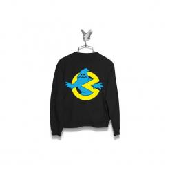 Bluza Ghostbusters Męska. Szare bluzy męskie marki Button. Za 160,00 zł.