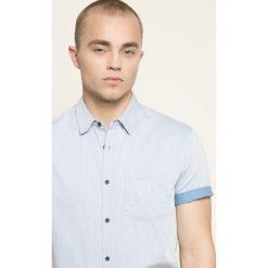 Medicine - Koszula Blue Lagoon. Niebieskie koszule męskie na spinki marki MEDICINE, m, z bawełny, z klasycznym kołnierzykiem, z krótkim rękawem. W wyprzedaży za 59,90 zł.