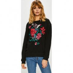 Silvian Heach - Bluza. Czarne bluzy z nadrukiem damskie marki Silvian Heach, l, z bawełny, bez kaptura. Za 599,90 zł.