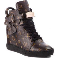 Sneakersy CARINII - B3767/K L98-000-000-B88. Brązowe sneakersy damskie Carinii, ze skóry. W wyprzedaży za 239,00 zł.