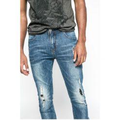 Medicine - Jeansy Let's Rebel. Niebieskie jeansy męskie slim marki House, z jeansu. W wyprzedaży za 59,90 zł.
