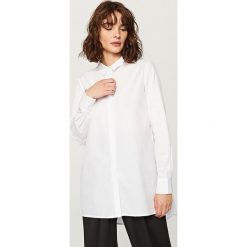 Bielizna damska: Długa koszula oversize - Biały