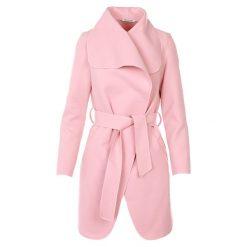 Płaszcze damskie pastelowe: Płaszcz materiałowy - 71-7021 ROSA
