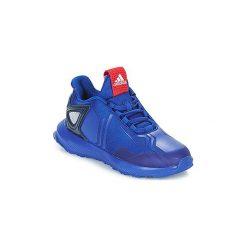 Buty Dziecko adidas  RAPIDARUN SPIDER-MAN. Czarne trampki chłopięce marki Adidas, do piłki nożnej. Za 233,10 zł.