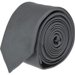 Krawaty męskie: krawat platinum grafit slim 200