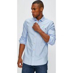 Scotch & Soda - Koszula. Szare koszule męskie na spinki marki S.Oliver, l, z bawełny, z włoskim kołnierzykiem, z długim rękawem. Za 379,90 zł.