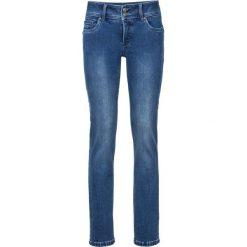 """Dżinsy """"Wyszczuplające sylwetkę"""" SLIM bonprix niebieski. Niebieskie jeansy damskie marki House, z jeansu. Za 129,99 zł."""