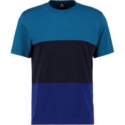 PS by Paul Smith COLOUR BLOCK Tshirt z nadrukiem blue. Niebieskie koszulki polo marki PS by Paul Smith, l, z nadrukiem, z bawełny. W wyprzedaży za 241,45 zł.