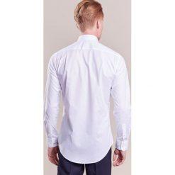 Tiger of Sweden FARRELL SLIM Koszula biznesowa white. Brązowe koszule męskie slim marki Tiger of Sweden, m, z wełny. Za 379,00 zł.