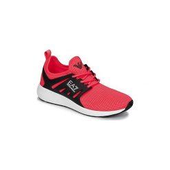 Buty do biegania Emporio Armani EA7  NEW MINIMAL RUN U. Czerwone buty do biegania damskie marki Emporio Armani EA7. Za 487,20 zł.