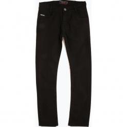 Blue Effect - Jeansy chłopięce regular fit, czarny. Czarne chinosy chłopięce Blue Effect, z jeansu. Za 179,95 zł.