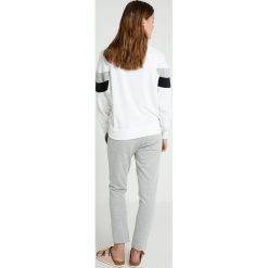 Bluzy rozpinane damskie: Juvia SPORTY WITH SIDE STRIPE Bluza white