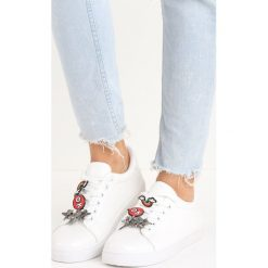 Buty sportowe damskie: Białe Buty Sportowe Pina