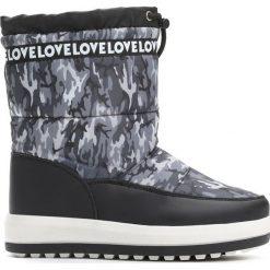 Buty zimowe chłopięce: Czarne Śniegowce Invariability