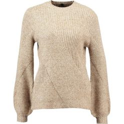 Swetry klasyczne damskie: YAS YASGOLDIE Sweter tapenade