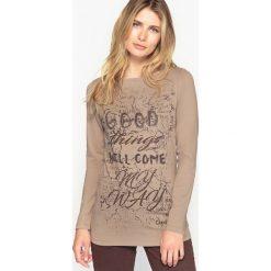 T-shirty damskie: T-shirt z bawełny stretchowej