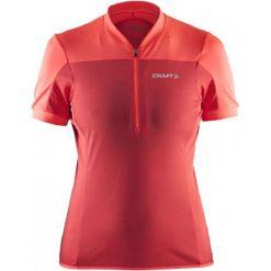 Craft Koszulka Rowerowa Motion Pink M. Różowe bluzki sportowe damskie marki Craft, m. W wyprzedaży za 117,00 zł.