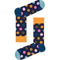 Happy Socks - Skarpety Big Dot. Szare skarpetki męskie Happy Socks, z bawełny. W wyprzedaży za 29,90 zł.
