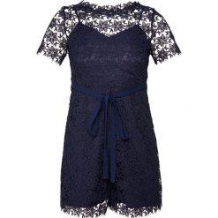 MAX&Co. CAROLINA Kombinezon dark blue. Niebieskie kombinezony damskie marki MAX&Co., z materiału. W wyprzedaży za 619,50 zł.