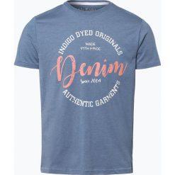 Mc Earl - T-shirt męski, niebieski. Niebieskie t-shirty męskie z nadrukiem Mc Earl, m, z bawełny. Za 49,95 zł.