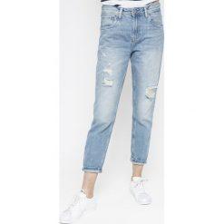 Pepe Jeans - Jeansy Violet. Niebieskie boyfriendy damskie Pepe Jeans, z podwyższonym stanem. W wyprzedaży za 299,90 zł.