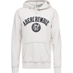 Bejsbolówki męskie: Abercrombie & Fitch CORE LOGO POPOVER Bluza z kapturem light heather grey