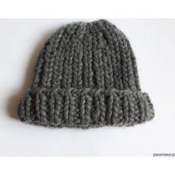 Czapka 'Minimal'. Niebieskie czapki zimowe damskie marki WED'ZE, z materiału. Za 115,00 zł.