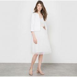Minispódniczki: Spódnica z tiulu