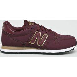 New Balance - Buty GW500BGG. Czerwone buty sportowe damskie marki New Balance, z gumy. W wyprzedaży za 259,90 zł.