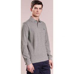 Polo Ralph Lauren SLIM FIT Koszulka polo grey. Szare koszulki polo Polo Ralph Lauren, m, z bawełny. Za 419,00 zł.