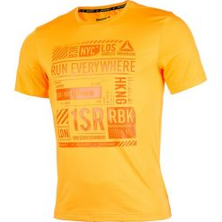 T-shirty męskie: koszulka do biegania męska REEBOK ONE SERIES SHORT SLEEVE TEE / BK7320