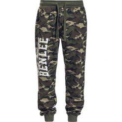 BenLee Fontana Spodnie dresowe kamuflaż. Czarne spodnie dresowe męskie BenLee, z nadrukiem, z dresówki. Za 164,90 zł.
