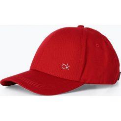 Czapki damskie: Calvin Klein - Damska czapka z daszkiem, czerwony