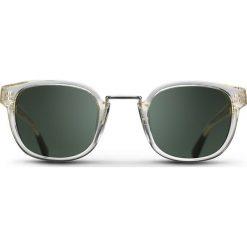 """Okulary przeciwsłoneczne męskie: Okulary przeciwsłoneczne """"Crystal Miles"""" w kolorze szarym"""