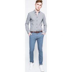 Tom Tailor Denim - Spodnie Chino. Szare chinosy męskie marki TOM TAILOR DENIM, w paski, z bawełny. W wyprzedaży za 179,90 zł.